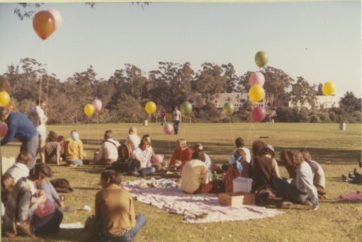 Picnicking at the Gay-In