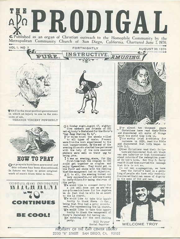Front cover of The Prodigal