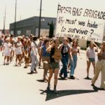 """Paper Bag Brigade"" marches against Proposition 6"