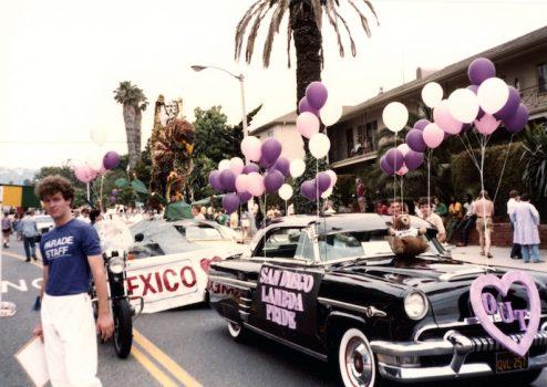 San Diego Lambda Pride car, 1986