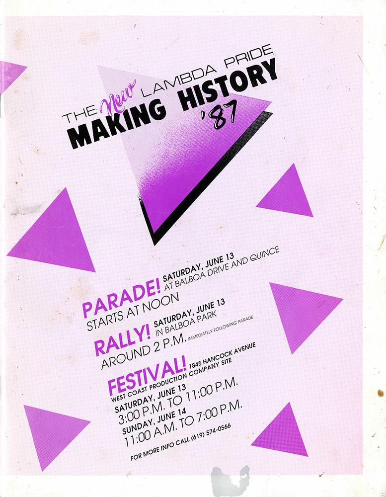 Pride Guide, 1987 (front)