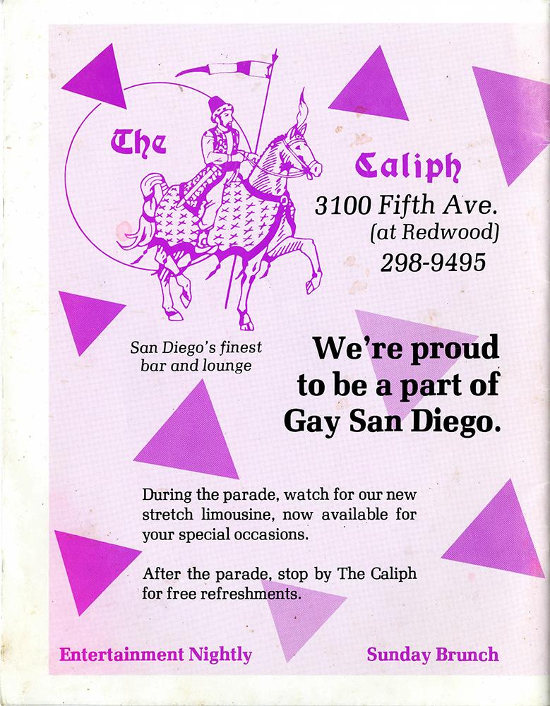 Pride Guide, 1987 (back)