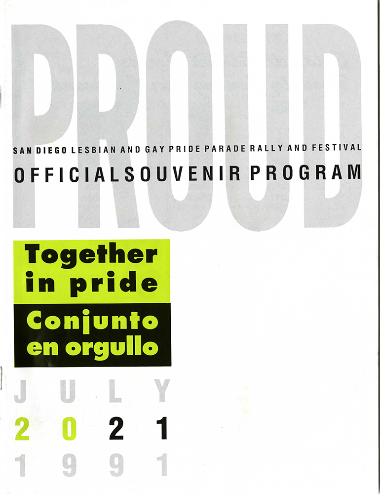 Souvenir Program, 1991