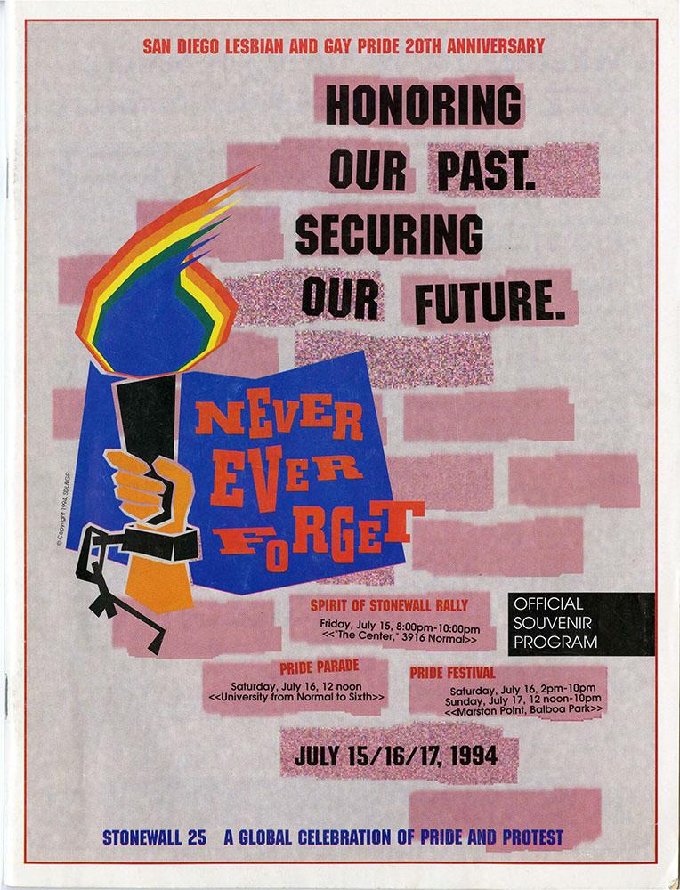 Souvenir Program, 1994