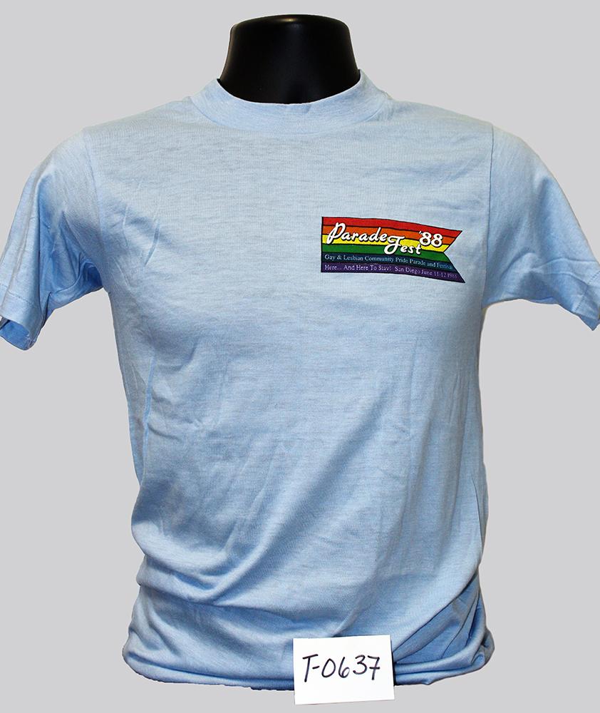 """Parade Fest '88"" t-shirt"