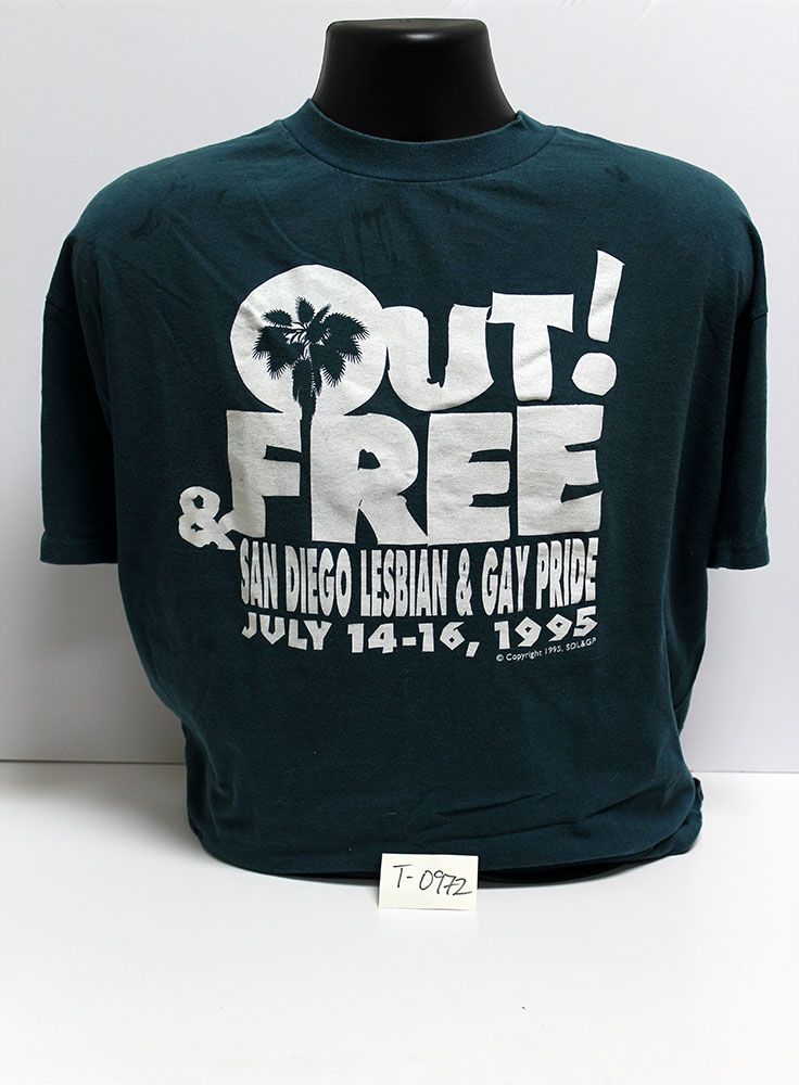 """Out & Free"" t-shirt, 1995"