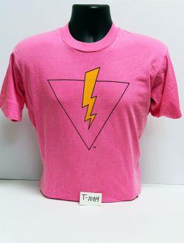 """""""Pride=Power"""" volunteer t-shirt (front), 1992"""