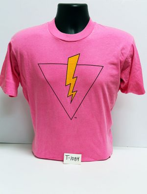"""Pride=Power"" volunteer t-shirt (front), 1992"