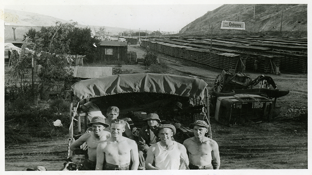 Camp Callan soldiers, Oct. 1941