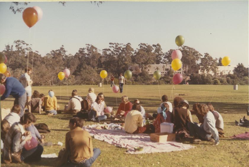 Picnicking at the Gay-In