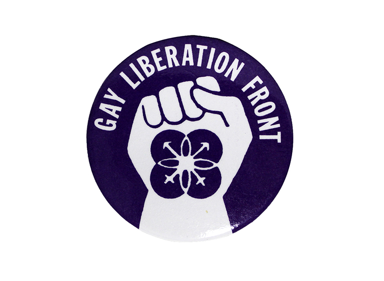 """Gay Liberation Front"" button"