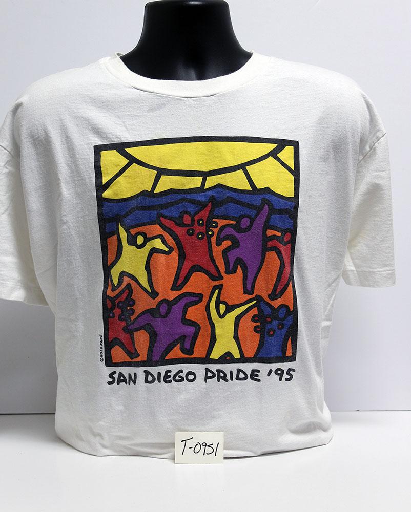 """San Diego Pride '95"" t-shirt"